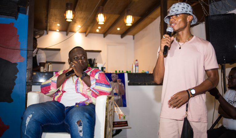 """PHOTOS: CJ Biggerman Host Fans At """"Bigger Picture EP"""" Listening Session"""