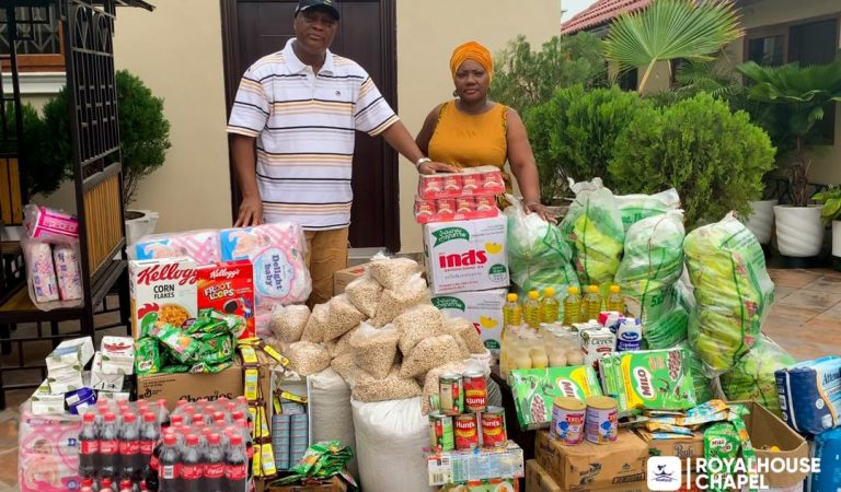 Royal house Supports Less Privileged During Covid-19 Lockdown
