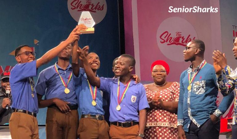 Presec Legon crowned Champions of season 3 of the Shark Quiz